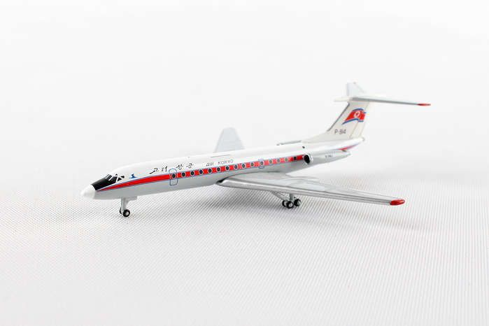 Air Koryo TU-134-B3 P-814 (1:500), Herpa 1:500 Scale Diecast Airliners Item Number HE530002