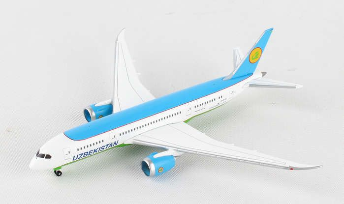 Uzbekistan 787-8 UK-78701 (1:500), Herpa 1:500 Scale Diecast Airliners Item Number HE530040
