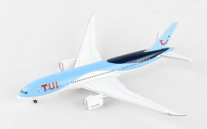 "TUI Airlines Belgium 787-8 OO-JDL ""Diamond"" (1:500), Herpa 1:500 Scale Diecast Airliners Item Number HE530163"