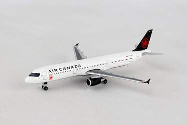 Air Canada Airbus A321 New Colors C-GJWO (1:500), Herpa 1:500 Scale Diecast Airliners Item Number HE530804