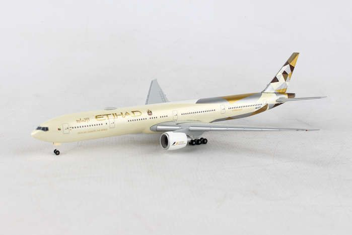 Etihad Airways Boeing 777-300ER - A6-ETC (1:500), Herpa 1:500 Scale Diecast Airliners Item Number HE531030