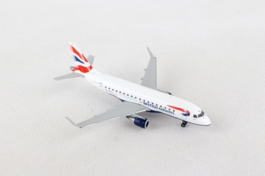 British Airways Cityflyer Embraer E170 - G-LCYG (1:500) - Preorder item, order now for future delivery, Herpa 1:500 Scale Diecast Airliners Item Number HE531092