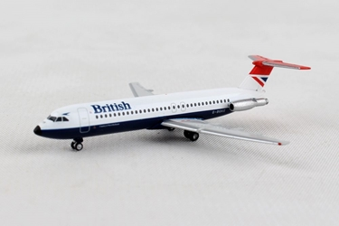 British Airways BAC 1-11-500 - Negus colors (1:500), Herpa 1:500 Scale Diecast Airliners Item Number HE531733