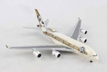 "Etihad Airways Airbus A380 ""Year of Zayed"" (1:500), Herpa 1:500 Scale Diecast Airliners Item Number HE531948"