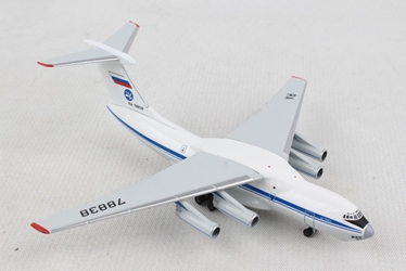 224 Flight United State Airlines Ilyushin IL-76 (1:500), Herpa 1:500 Scale Diecast Airliners Item Number HE532631