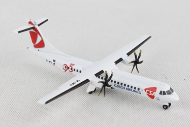 "CSA Czech Airlines ATR-72-500 ""95 Years"" (1:500), Herpa 1:500 Scale Diecast Airliners, Item Number HE532792"