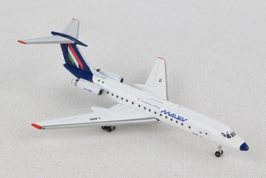 Malev Hungarian Airlines Tupolev TU-134A (1:500), Herpa 1:500 Scale Diecast Airliners, Item Number HE532914