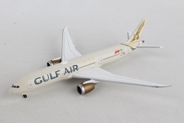 Gulf Air Boeing 787-9 Dreamliner, New Livery (1:500), Herpa 1:500 Scale Diecast Airliners, Item Number HE532976