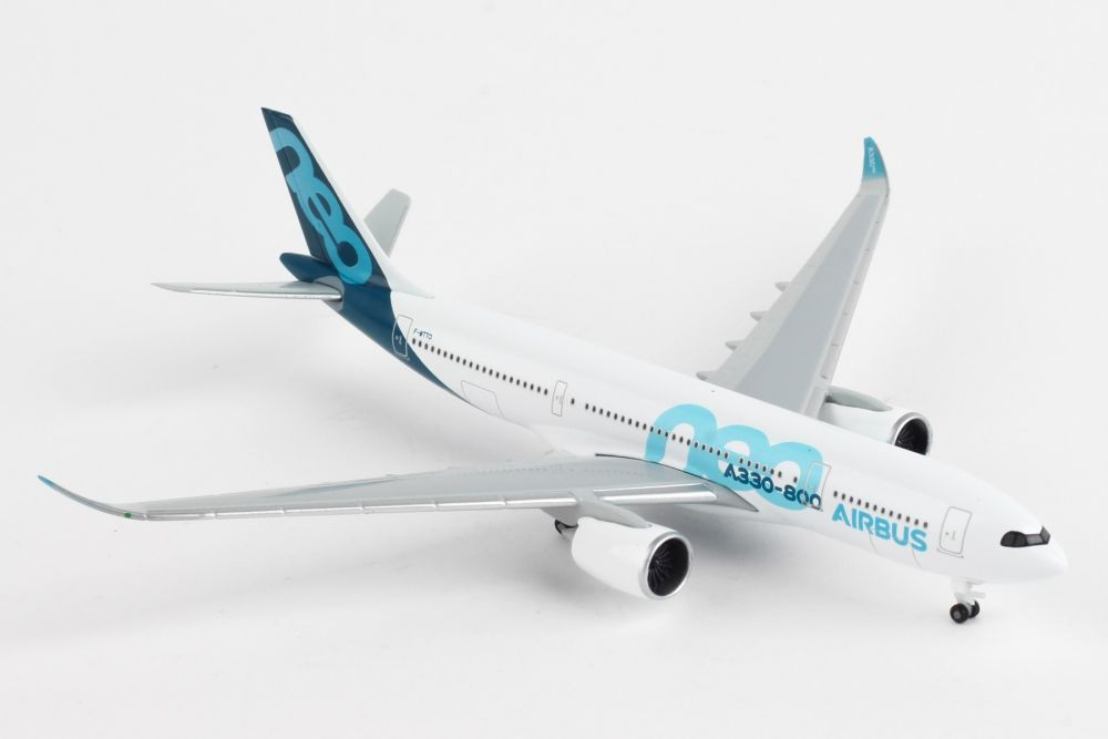 Airbus A330-800 Neo, House Colors F-WTTO (1:500) by Herpa 1:500 Scale Diecast Airliners Item Number HE533287