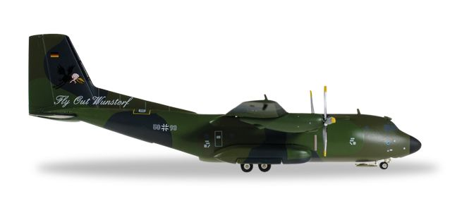 Luftwaffe C-160 LTG 62 Flyout 50+93 (1:200) - Preorder item, order now for future delivery, Herpa 1:200 Scale Diecast Airliners Item Number HE557849