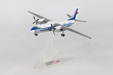 Aeroflot Antonov AN-24RV - CCCP-46466 (1:200), Herpa 1:200 Scale Diecast Airliners Item Number HE558914