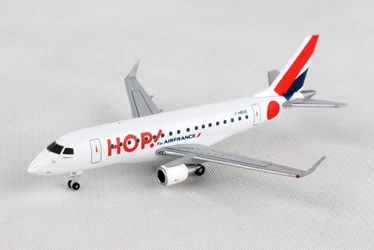 Hop! for Air France Embraer E170 F-HBXE (1:200) - , Herpa 1:400 Scale Diecast Airliners Item Number HE562621