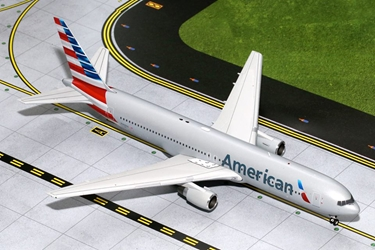 "American B767-300 ""New Colors"" N368AA (1:200), GeminiJets 200 Diecast Airliners, Item Number G2AAL414"