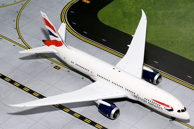 British Airways B787-8 G-ZBJC (1:200), GeminiJets 200 Diecast Airliners, Item Number G2BAW542