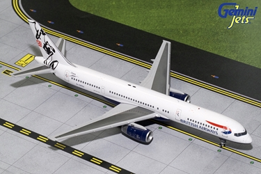 British Airways B757-200 Rendezvous Tail G-CPEV (1:200), GeminiJets 200 Diecast Airliners, Item Number G2BAW691
