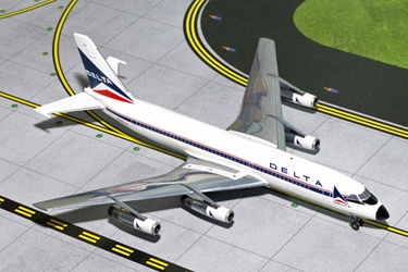 Delta Air Lines CV-880 N8802E Widget Colors - New Mould, GeminiJets 200 Diecast Airliners, Item Number G2DAL507