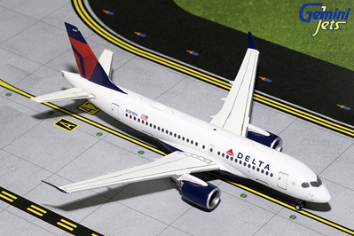 Delta Airlines CS100 N101DU (1:200) - New Mould, GeminiJets 200 Diecast Airliners, Item Number G2DAL701
