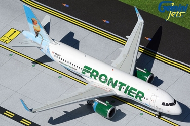 "Frontier Airlines A320neo N318FR ""Flower the Hummingbird"" (1:200)"