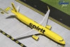Spirit Airlines A321-200 Yellow Livery, Sharklets N668NK (1:200), GeminiJets 200 Diecast Airliners, Item Number G2NKS620