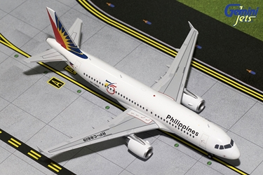Philippines A320-200 75th Anniversary RP-C8619 (1:200), GeminiJets 200 Diecast Airliners, Item Number G2PAL616
