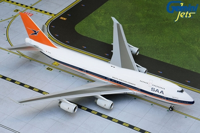 South African B747-400 ZS-SAX 1990s livery (1:200)