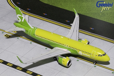 S7 Sibir Airlines A320neo VQ-BCF (1:200), GeminiJets 200 Diecast Airliners, Item Number G2SBI697