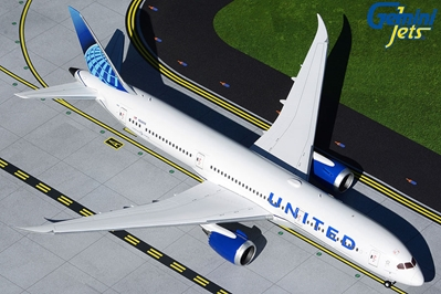 United Airlines B787-9 N24976 new livery (1:200)
