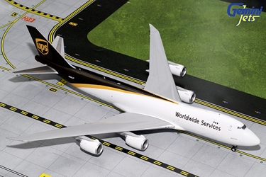 UPS B747-8F N605UP (1:200), GeminiJets 200 Diecast Airliners, Item Number G2UPS644