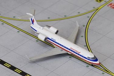 American Eagle CRJ-200 Old White Livery N866AS (1:400), GeminiJets 400 Diecast Airliners Item Number GJAAL1272