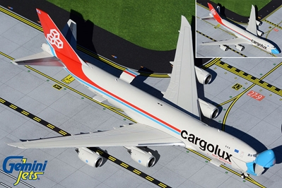 "Cargolux B747-8F LX-VCF ""Not Without My Mask"" Interactive, Opening Nose (1:400)"
