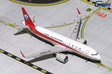 Sichuan Airlines A320neo B-8949 (1:400), GeminiJets 400 Diecast Airliners Item Number GJCSC1716