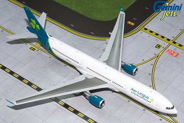 Aer Lingus A330-300 New Livery EI-BDY (1:400) by GeminiJets 400 Diecast Airliners Model number GJEIN1853