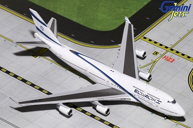 "EL AL B747-400 ""Goodbye Flight"" 4X-ELB (1:400) by GeminiJets 400 Diecast Airliners Item Number: GJELY1810"