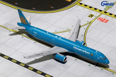 Vietnam Airlines A321-200 Old Livery VN-A608 (1:400), GeminiJets 400 Diecast Airliners Item Number GJHVN1597