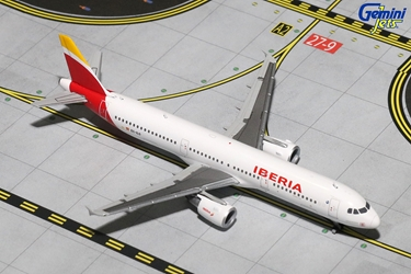 Iberia A321-200 New Livery EC-ILO (1:400), GeminiJets 400 Diecast Airliners Item Number GJIBE1494
