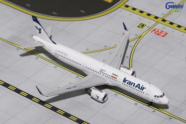"Iran Air A321-200 with Sharklets ""New Livery"" EP-IFA (1:400)?, GeminiJets 400 Diecast Airliners Item Number GJIRA1646"