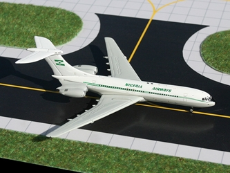 Nigeria Airways Standerd VC-10 (1:400), GeminiJets 400 Diecast Airliners, Item Number GJNGA690