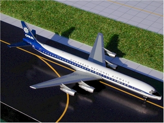 Overseas National (ONA) DC-8-61 (1:400), GeminiJets 400 Diecast Airliners, Item Number GJONA101