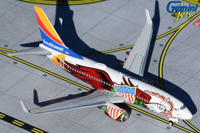 Southwest Airlines B737-700 N918WN ?Illinois One? (1:400)