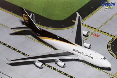 UPS B747-400 New Livery N572UP (1:400), GeminiJets 400 Diecast Airliners Item Number GJUPS1571