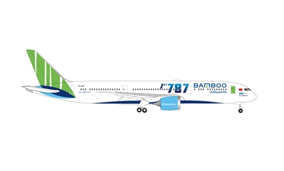 "Bamboo Airways Boeing 787-9 Dreamliner VN-A819 ""Ha Long Bay"" (1:500)"